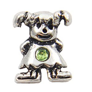 Picture of August Girl Birthstone Charm